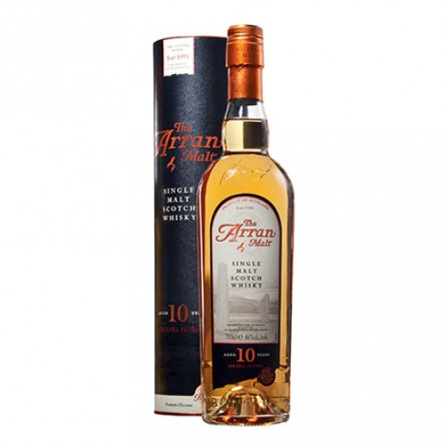 Arran Malt 10 YO Single Malt Whisky 0,7 l Tuba
