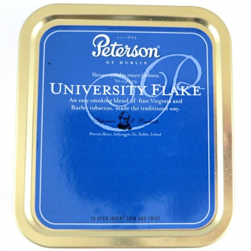 Tabák Peterson University Flake 50g