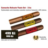 Camacho Robusto Taste Set - 3 ks