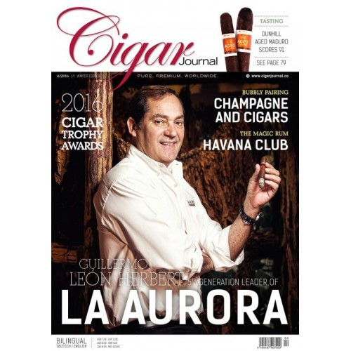 Doutníkový magazín Cigar Journal 04/2016 - Winter Edition