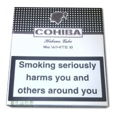 Cohiba Mini White - 10 ks