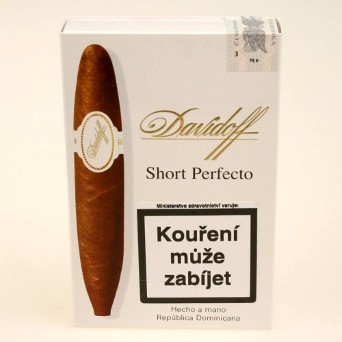 Davidoff Short Perfecto - 4 ks