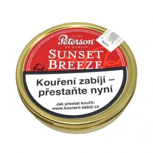 Tabák Peterson Sunset Breeze 50g