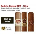 Padrón Series SET - 3 ks