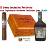 Perdomo LOT 23 Natural Robusto - 25 ks + RUM
