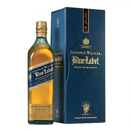 Johnnie Walker Blue Label Whisky 0,7L