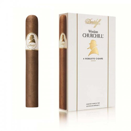 Davidoff Winston Churchill Robusto - 4 ks