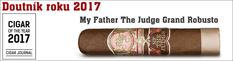 Doutník roku 2017 My Father The Judge Grand Robusto